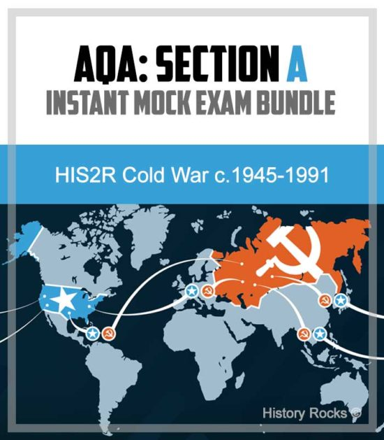 AQA HIS2R Cold War Section A: Instant Mock Bundle – 1945-1991