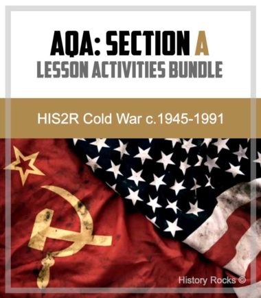 AQA HIS2R Cold War Section A: Differentiated Lesson Activities