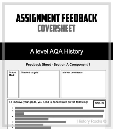Assignment Coversheet