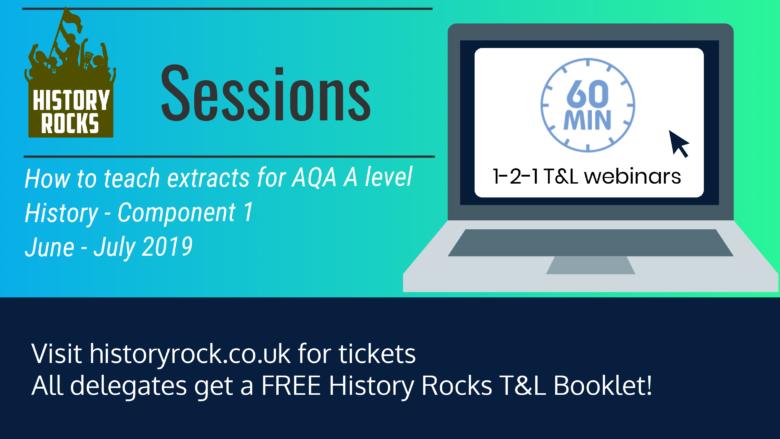 History Rocks Session: 60 min Webinar - Extracts - HISTORY ROCKS